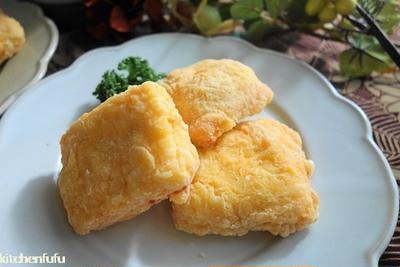 チーズパンフライ♪食パンのおつまみ