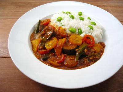 6種の夏野菜カレー