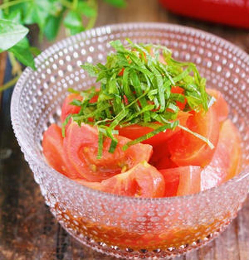 和えるだけ!「トマトポン酢」でハズレトマトも甘くなる