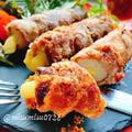 【竹輪アレンジ】チーズ入りちくわの肉巻き(動画レシピ)