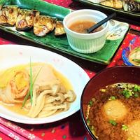 我が家のイチオシ【ベーコン巻ロール白菜】de 夕食 & デカくなったわねぇ〜!?