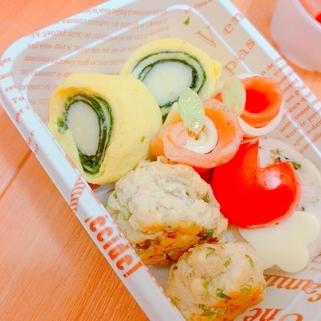 お弁当&おつまみに!チーズinロールエッグ