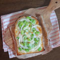 ほっこりスパイシー!枝豆のチーズトースト by KOICHIさん