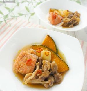 【レシピ】ほんのり酸味が調度良い、秋鮭とかぼちゃの南蛮漬け
