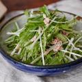 39円水菜で♡もりもり食べれるやみつきサラダ♡とサラダ活用で即席オートミールビビンパ