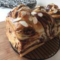 【久しぶりの手作りチョコマーブルパン。ボリュームある1.5斤】