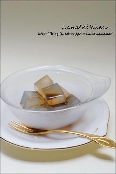 【簡単:和おやつ】天草から寒天を作る方法。と、黒蜜。<レシピ>
