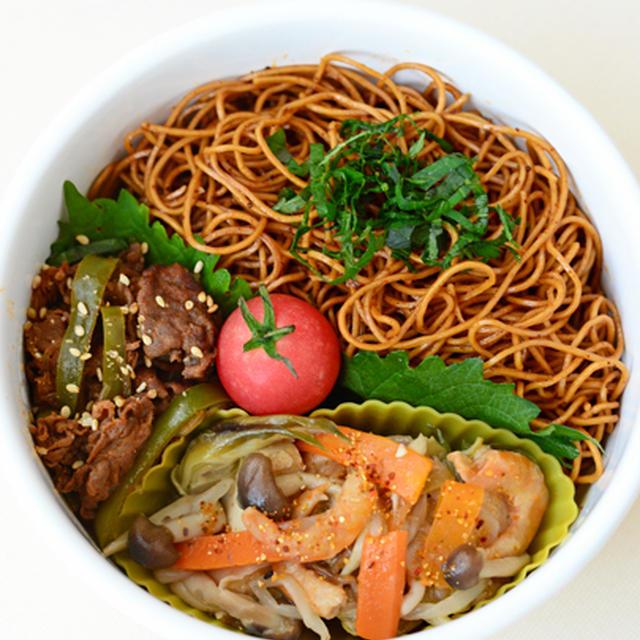 9月18日 金曜日 チャプチェ&鮑魚麺