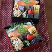 避暑地沖縄(;・∀・)? ★ 鮭弁と虹とタコ焼きパ~リ~♪