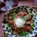~漬けて焼くだけ!~【わさび醤油の網焼きカルビ丼】#スタミナ丼 #下味冷凍