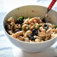 【3分で出来ちゃうイタリアン♪】ツナ缶(鯖缶)と白インゲン豆の簡単サラダ