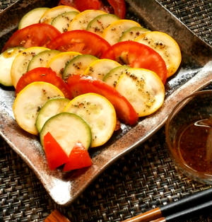 夏野菜のカルパッチョ