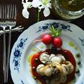 ベビー帆立のタプナードソース添え 南仏 簡単 作り置き常備食材 バル風 万能ソース - スパイス大使 -