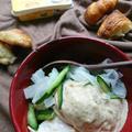 お弁当に〜ささみのクリチパイン胡麻ソース(作りおきサラダ)〜 by YUKImamaさん