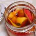 秋限定☆柿とりんごとメープルシロップのフルブラ