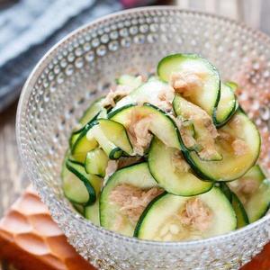 クセがないから食べやすい♪ズッキーニとツナを使った副菜レシピ