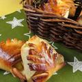 余ったおせちの簡単アレンジレシピ|栗きんとんの飾りあんぱん包み by 銀木さん
