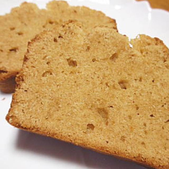 ピーナッツバターケーキ(レシピ付)