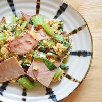 簡単♪美味しく ダイエットレシピ 第10弾「ももハム と チンゲン菜の 炒めもの」