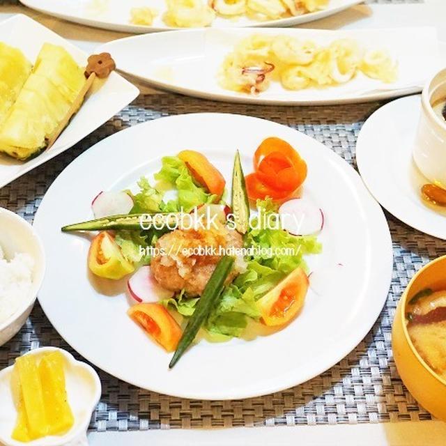 【和食】おうち夜ご飯3日分の記録/My Homemade Dinner/อาหารมื้อดึกที่ทำเอง