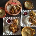 ハッピーーーセット!とゴロゴロかぼちゃのパスタ入りスープ