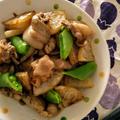 ゴマ油が香る、豚バラ大根の中華炒め