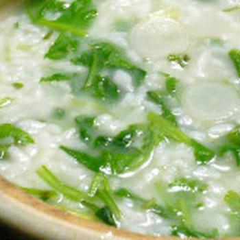 あけましておめでとうございます!&中華風味で簡単美味しい七草粥