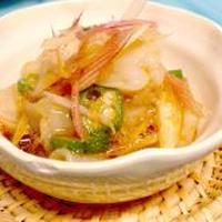 【レシピ】 生たこの山葵醤油和え(みょうがの風味がたまらん!)