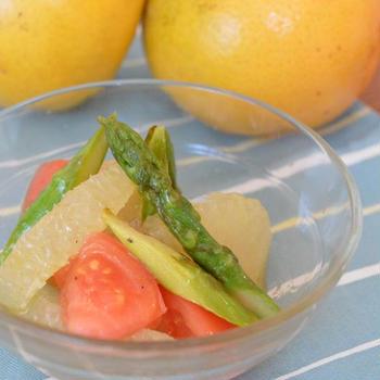 旬野菜とグレープフルーツのマリネ