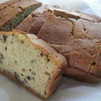 Zuccini Bread/ズッキーニとクルミのパウンドケーキ