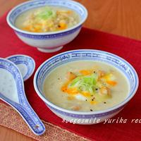 進化系フムス!ひよこ豆の中華スープ