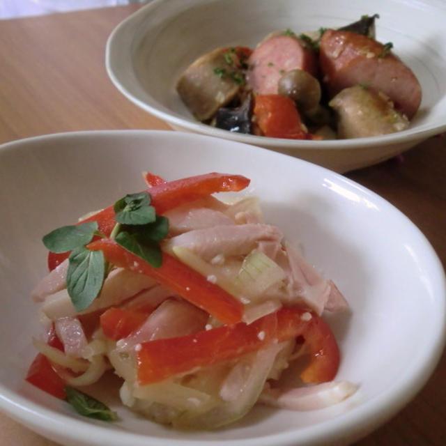 塩麹で旨みアップ♪ご飯がすすむハム・ソーセージのおかず