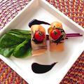 くらしのアンテナで掲載♡ ☆お餅でお洒落イタリアン♪『柔らかお餅と生ハムのインボルティーニ』♪