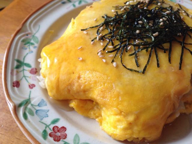 4. ひとりランチに食べたい和風オムライス