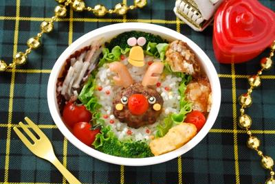 【クリスマス】キャラ弁簡単おすすめレシピ!サンタ・トナカイ・雪だるまの作り方のコツ!の画像6