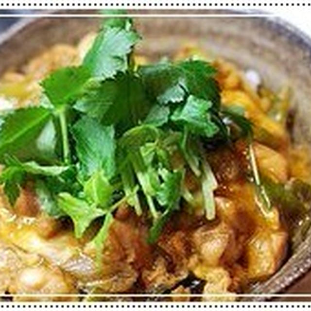 卵白活用法-ふわふわ親子丼の簡単レシピ-ためしてガッテン&ダイエットワンポイントアドヴァイス