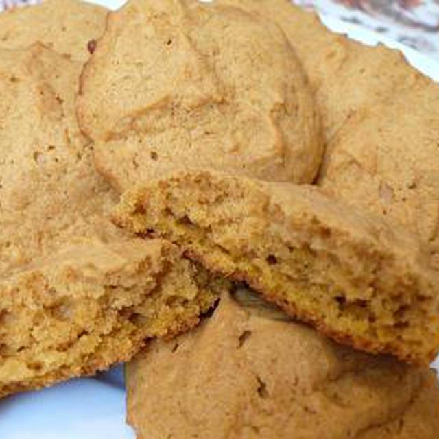 かぼちゃのクッキー Pumpkin Spice Cookies