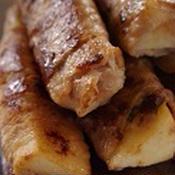 長芋の豚肉巻き