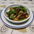 ホタルイカとマッシュルームの炒め物
