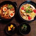 嬉しいモニター☆土鍋カレーうどんと稲庭風細うどんde酸辣湯麺♪☆♪☆♪