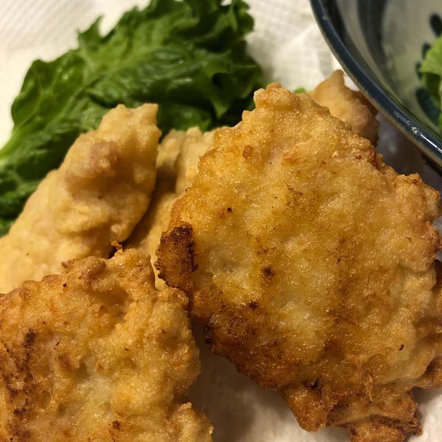 豆腐と鶏胸肉のナゲット