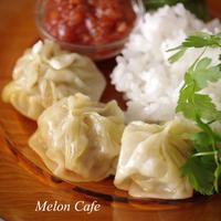 【レシピ】レンジで手軽に!蒸し餃子『モモ』(チベット・ネパール料理)☆簡単おいしいエスニック料理を作ろう!(スパイス大使)