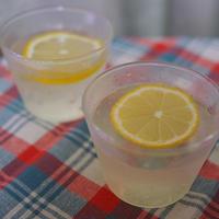 チリ産レモンを使って・・・