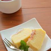 話題沸騰中のマジックケーキを ホットケーキミックスで♪