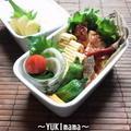 パパイヤで豚ロース肉のソテートマトソース~パパのお弁当~ by YUKImamaさん