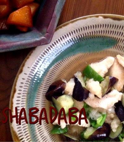 簡単!柔らかしっとり♪鶏胸肉と野菜のおろし煮