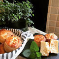 マフィン型でグルテンフリー100%米粉・豆乳で小麦アレルギー対応食事パン~♪♪ by pentaさん