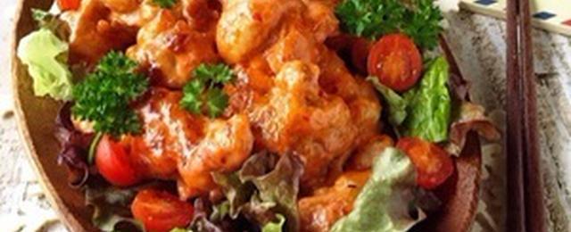 15分で満腹おかず!「ケチャップ&マヨネーズ」で味付け簡単