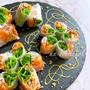 ダイエット効果に‼︎混ぜて巻くだけ♪納豆キムチの生春巻き♡レシピ