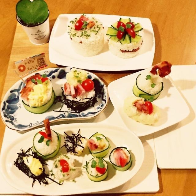 【投稿】アイデアお寿司♡サンドイッチの具でお寿司♪